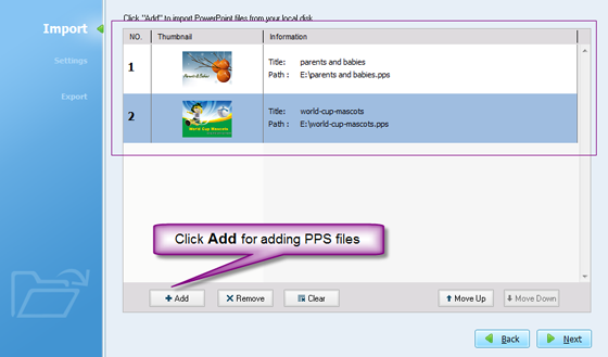 Import PPS to PowerPoint converter