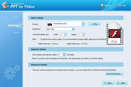 PPT to Flv converter