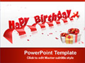 Free PowerPoint Templates - Happy Birthday PowerPoint Templates