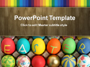 Free Easter PowerPoint template  - PowerPoint Templates for FREE