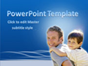 Free Father's Day PowerPoint template  - PowerPoint Templates for FREE