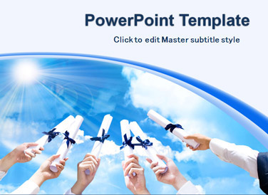 Free PowerPoint Templates - Free Graduation PowerPoint Templates
