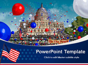 Free Independence Day PowerPoint template  - PowerPoint Templates for FREE