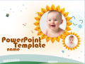Free PowerPoint Templates - Free Baby Music PowerPoint Templates