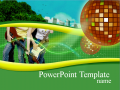 Free PowerPoint Templates - Free College Music PowerPoint Templates