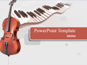 Free Music PowerPoint template  - PowerPoint Templates for FREE