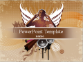 Free PowerPoint Templates - Free Rock Music PowerPoint Templates