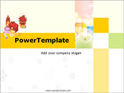 Free Birthday PowerPoint template  - PowerPoint Templates for FREE