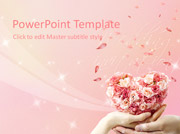 Free Wedding PowerPoint template  - PowerPoint Templates for FREE