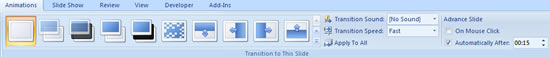 assign time in animation tab