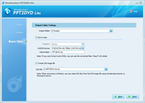 Convert to video and Burn DVD